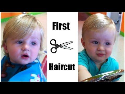 Cayden's 1st Haircut! | 08.27.2014