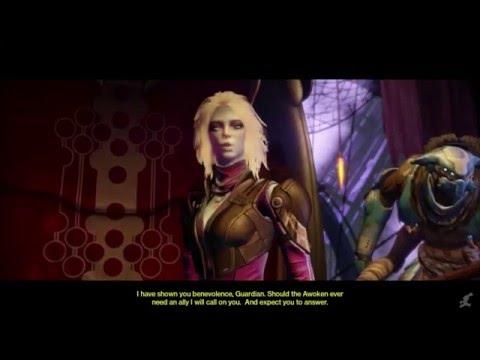 Destiny - Mara Sov, Queen of the Awoken (all cutscenes 1080p)