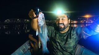 PESQUEI MEU PRIMEIRO ROBALO ENTRE OS NAVIOS - Pescaria