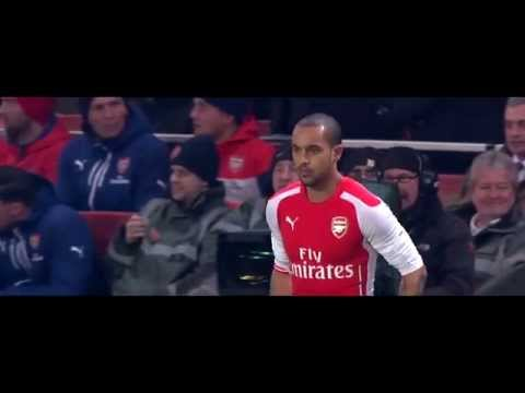 Theo Walcott  Comeback Vs Hull City 4/1/15 1080p HD
