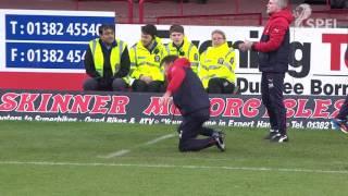 Frustration sends manager head over heels!