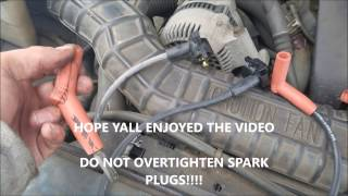 How To Replace Spark Plugs and Wires 6 Cylinder Ford Ranger