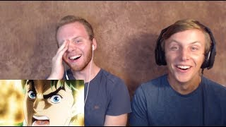 SOS Bros React - JoJo's Bizarre Adventure Episode 1 - DIO!!!!