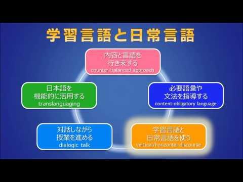 英検 英語教育研究センター:CLILにおける内容指導と言語指導の効果的統合法