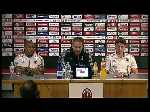 "Mihajlovic: ""Two teams playing to win"" | AC Milan Official"