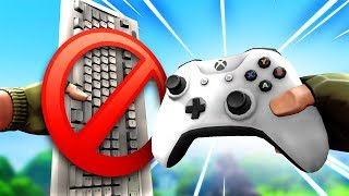 Playing controller for the first time on Fortnite