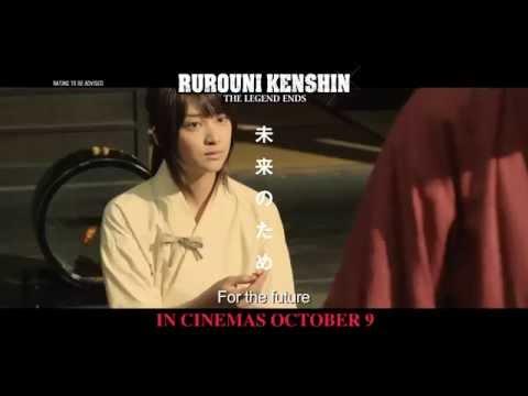 RUROUNI KENSHIN: THE LEGEND ENDS - TV Spot #3 - In Cinemas 9 October