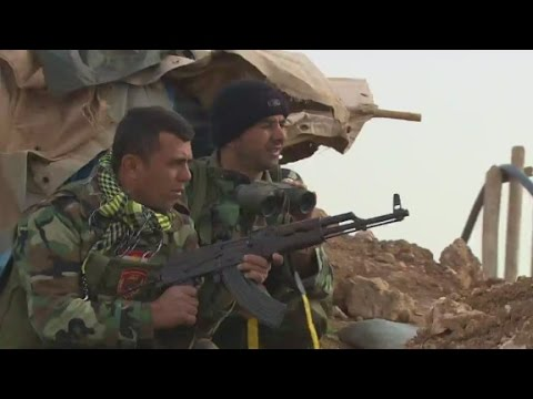 Peshmerga waiting for help to take Mosul from ISIS