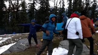 Kedarkantha Winter trek   Juda Ka Talab campsite   Fun times