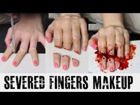 Severed Fingers Tutorial