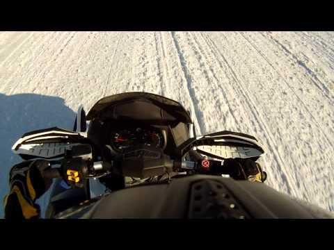 ski doo 1200 wreck