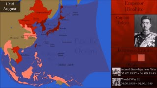 History of the Japanese Empire : Every Month