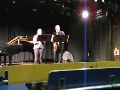 Mad Rush To The End by C. Savage, Doggett Clarinet/Tenor Sax Duo