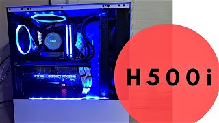 NZXT H500i build with Gigabyte Aorus RTX 2080 and Master Motherboard
