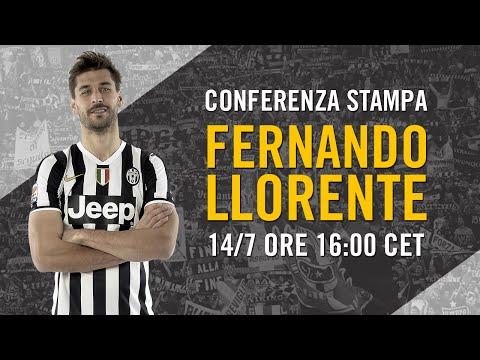 Conferenza stampa di Fernando Llorente