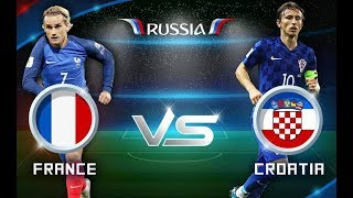 Fifa World Cup 2018 Russia France vs Croatia Watch Live Matches Streaming