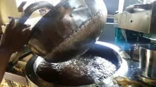 Papdi making Machine in circular fryer