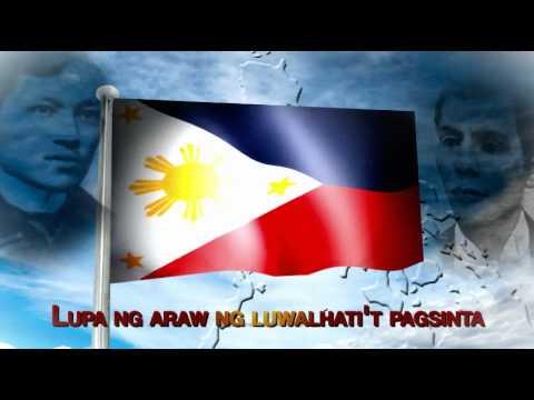 Lupang Hinirang (pambansang Awit) video