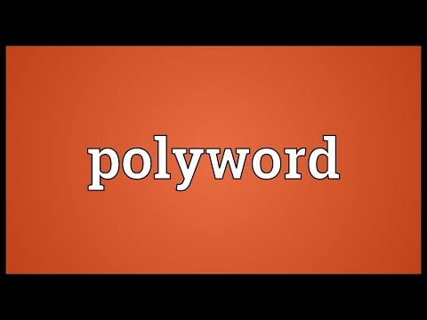 Header of Polyword
