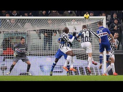 Juventus - Sampdoria 4-2 (18.01.2014) 1a Ritorno Serie A (2a Versione).