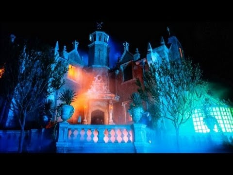 ♥♥ The Haunted Mansion at Walt Disney World (in HD)