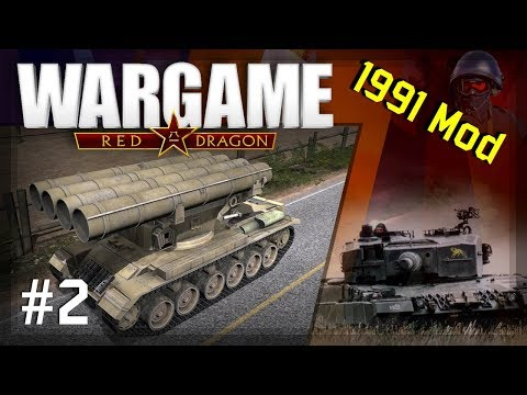 Wargame: Red Dragon - 1991 Mod #2 | 1vs1 vs Elefant | Red Dragons | Plunjing Valley