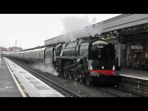 [HD] 71000 'Duke of Gloucester' on 'The Torbay Express' - Sunday 5th August 2012
