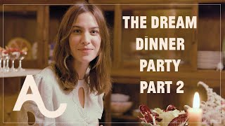 Alexa Learns How To Host Her Dream Dinner Party - Part 2 | ALEXACHUNG