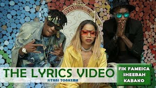 Sitani Tonkema Lyrics - Sheebah ft Roden Y & Fik Fameika (Official Lyrics Video 2017)