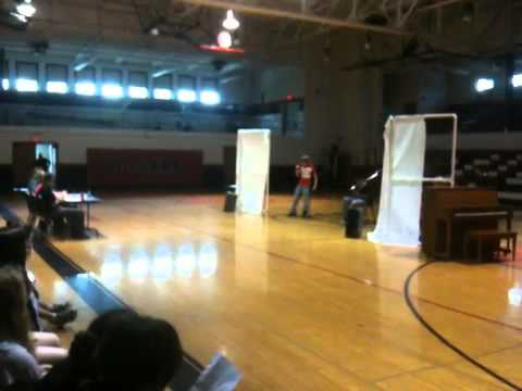 Everts Middle School talent show