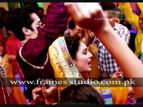 Exclusive Mehndi video- Aiza Khan and Danish Taimoor