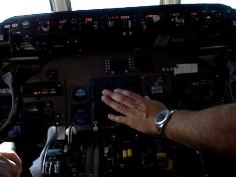 Despegue desde AEP, cabina MD88