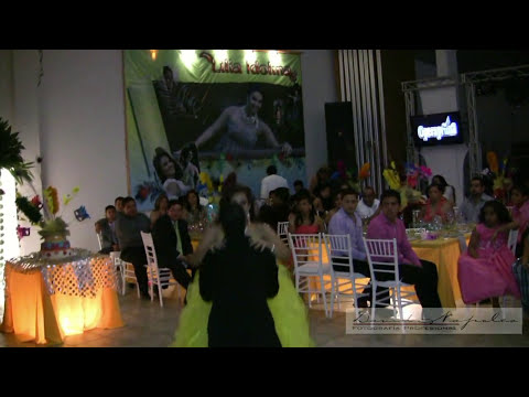 XV AÑOS LILIA IDOLINA ...Coreografía Espectacular     (Opening y Vals Principal)