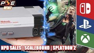 Splatoon 2 Dominates Amazon Japan, Nintendo NPD Sales, Scalebound Revival? & MORE!   PE NewZ