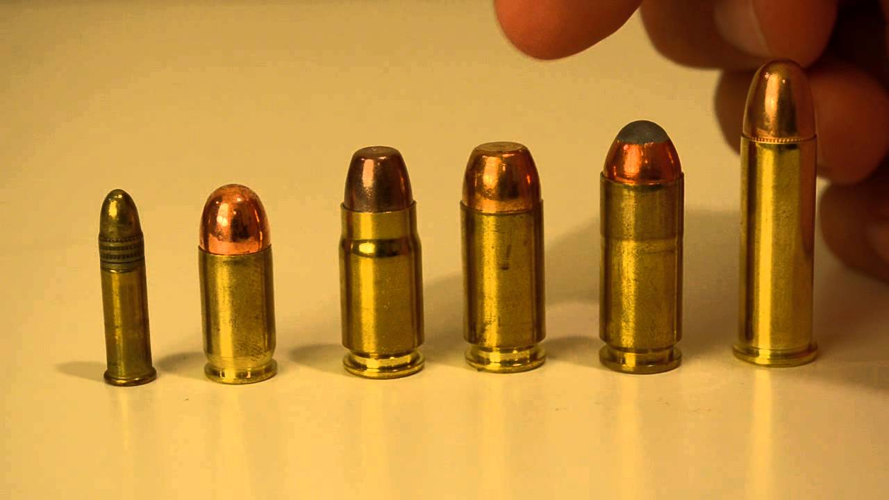 Familia 10mm e derivados (357 Sig, 40S&W, 10mm) - YouTube
