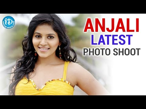 Telugu Actress Anjali Latest Spicy Photoshoot video