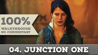 Quantum Break Walkthrough part 4 JUNCTION ONE (Hard, All Collectibles)