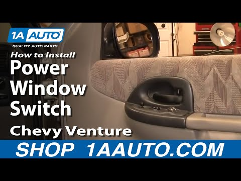 How To Install Replace Power Window Switch Chevy Venture Pontiac Montana 97-05 1AAuto.com