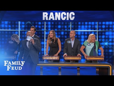 Steve, that's NOT what MOMMA SAID!!! | Celebrity Family Feud | OUTTAKE