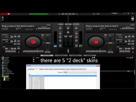 how to add decks to Virtual DJ pro