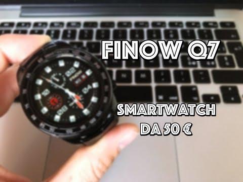 Finow Q7 : Lo smartwatch da 50 euro con Android con rete 3G! (Recensione ITA)