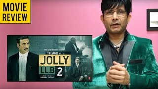 Jolly LLB 2 | Movie Review by KRK | KRK Live | Bollywood Review | Latest Movie Reviews