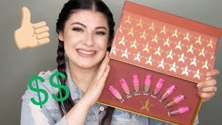 REVIEW: JEFFREE STAR MINI VELOUR LIQUID LIPSTICKS COLLECTION | NUDE VOLUME 1