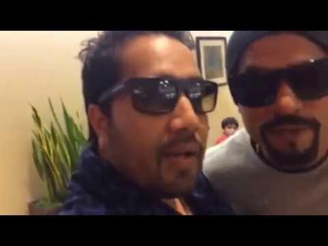 Mika Singh and Bohemia