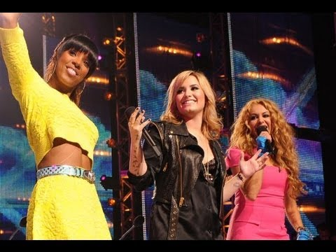 'X FACTOR' USA SEASON 3 FIRST LOOK! DEMI LOVATO, KELLY ROWLAND, PAULINA RUBIO