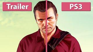 Grand Theft Auto 5 - New Trailer vs. Xbox 360 Graphics Comparison