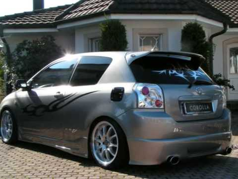 Toyota Corolla E12 Tuning Youtube