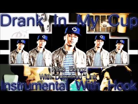 Kirko Bangz - Drank In My Cup Instrumental [ With video