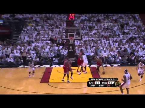 2011 ECF Miami Heat V Chicago Bulls Game 4