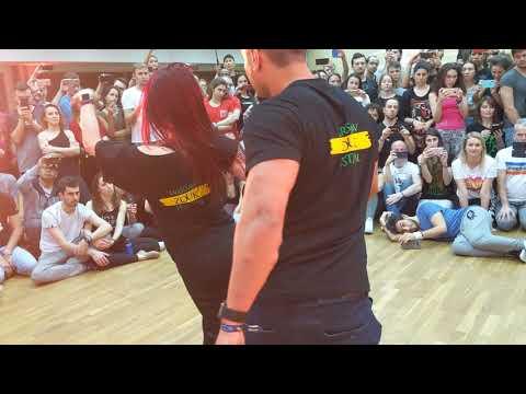 WZF2019: Larissa & Kadu in Saturday afternoon class demo ~ Zouk Soul